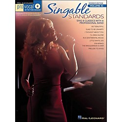 Hal Leonard Singable Standards - Pro Vocal Songbook & CD For Female Singers Volume 43 (740417)