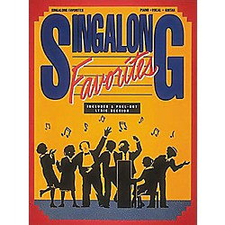 Hal Leonard Singalong Favorites Piano, Vocal, Guitar Songbook (490346)