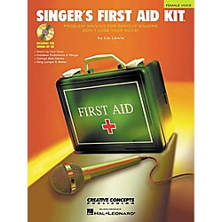 Hal Leonard Singer's First Aid Kit - Female Voice Book/CD (315334)