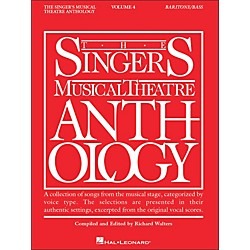 Hal Leonard Singer's Musical Theatre Anthology Baritone / Bass Volume 4 (396)