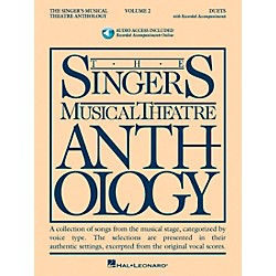 Hal Leonard Singer's Musical Theatre Anthology Duets Volume 2 Book/2CD's (492)