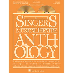Hal Leonard Singer's Musical Theatre Anthology Duets Volume 3 Accompaniment CDs (1161)