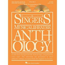 Hal Leonard Singer's Musical Theatre Anthology Duets Volume 3 Book/CDs (1166)