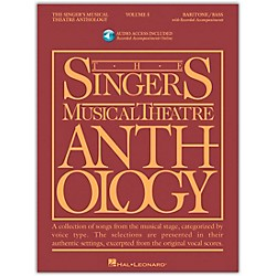 Hal Leonard Singer's Musical Theatre Anthology For Baritone / Bass Vol 5 Book/2CD's (1165)