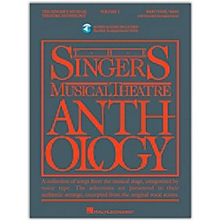 Hal Leonard Singer's Musical Theatre Anthology For Baritone / Bass Volume 1 Book/2CD's (486)
