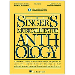 Hal Leonard Singer's Musical Theatre Anthology For Baritone / Bass Volume 2 Book/2CD's (491)