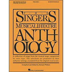 Hal Leonard Singer's Musical Theatre Anthology For Baritone / Bass Volume 2 (747033)