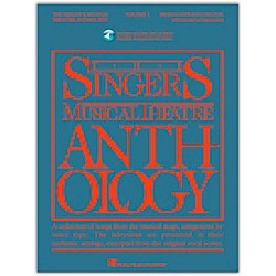 Hal Leonard Singer's Musical Theatre Anthology For Mezzo-Soprano / Belter Volume 1 Book/2CD's (484)