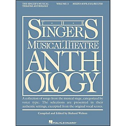 Hal Leonard Singer's Musical Theatre Anthology For Mezzo-Soprano / Belter Volume 3 (740123)