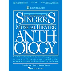 Hal Leonard Singer's Musical Theatre Anthology For Mezzo-Soprano / Belter Volume 4 Book/2CD's (498)