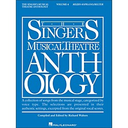 Hal Leonard Singer's Musical Theatre Anthology For Mezzo-Soprano / Belter Volume 4 (394)
