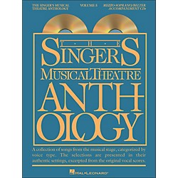 Hal Leonard Singer's Musical Theatre Anthology For Mezzo-Soprano / Belter Volume 5 2 CD's Accompaniment (1158)
