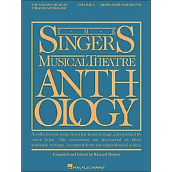 Hal Leonard Singer's Musical Theatre Anthology For Mezzo-Soprano / Belter Volume 5 (1152)