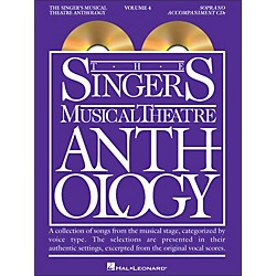 Hal Leonard Singer's Musical Theatre Anthology For Soprano Voice Volume 4 Accompaniment CD's (2 CD Set) (397)