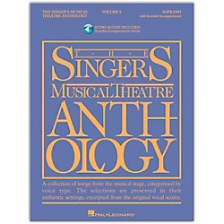 Hal Leonard Singer's Musical Theatre Anthology For Soprano Vol 5 Book/Accompaniment CD's (1162)