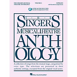 Hal Leonard Singer's Musical Theatre Anthology For Soprano Volume 2 Book/2CD's (488)