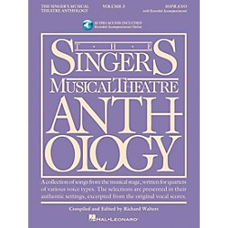 Hal Leonard Singer's Musical Theatre Anthology For Soprano Volume 3 Book/2CD's (493)