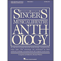Hal Leonard Singer's Musical Theatre Anthology For Soprano Volume 3 (740122)