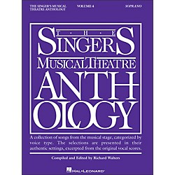 Hal Leonard Singer's Musical Theatre Anthology For Soprano Volume 4 (393)