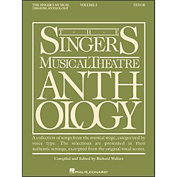 Hal Leonard Singer's Musical Theatre Anthology For Tenor Voice Volume 3 (740124)