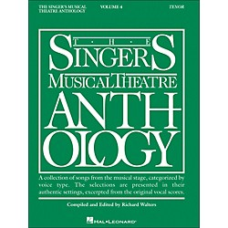 Hal Leonard Singer's Musical Theatre Anthology For Tenor Voice Volume 4 (395)
