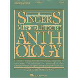 Hal Leonard Singer's Musical Theatre Anthology For Tenor Voice Volume 5 Smta (1153)