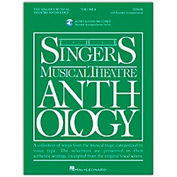 Hal Leonard Singer's Musical Theatre Anthology For Tenor Volume 4 Book/2CD's (499)