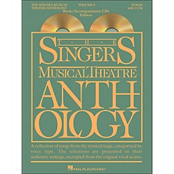 Hal Leonard Singer's Musical Theatre Anthology For Tenor Volume 5 Book/2CD's (1164)