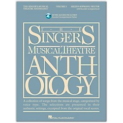 Hal Leonard Singer's Musical Theatre Anthology Mezzo-Soprano / Belter Volume 3 Book/2CD's (494)