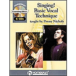 Hal Leonard Singing! Basic Vocal Technique Book and 6-CD Package (641466)