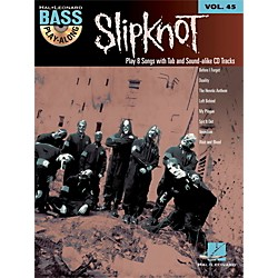 Hal Leonard Slipknot - Bass Play-Along Volume 45 Book/CD (703201)