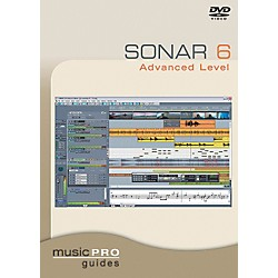 Hal Leonard Sonar 6 Advanced Level DVD Music Pro Guide Series (320668)