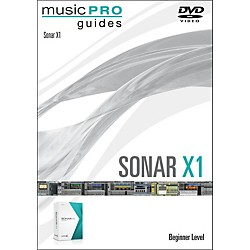 Hal Leonard Sonar X1 Music Pro Guide DVD Tutorial (321193)