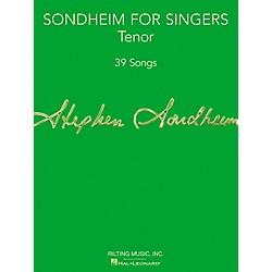 Hal Leonard Sondheim For Singers - Tenor (124181)