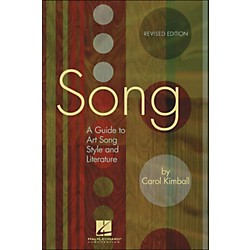 Hal Leonard Song: A Guide To Art Song Style And Literature (331422)