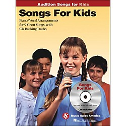 Hal Leonard Songs For Kids - Audition Songs Series Book/CD (14037458)