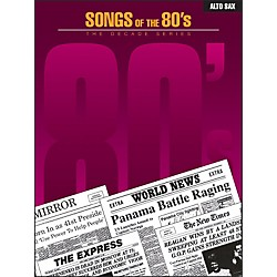 Hal Leonard Songs Of The 1980's For Alto Sax (841791)