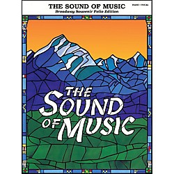 Hal Leonard Sound Of Music Broadway Souvenir Folio arranged for piano, vocal, and guitar (P/V/G) (313114)
