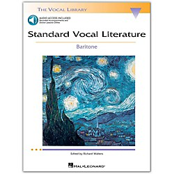 Hal Leonard Standard Vocal Literature - An Introduction To Repertriore For Baritone Book/2CD (740275)