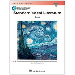 Hal Leonard Standard Vocal Literature For Bass Voice Book/2CD's (740276)