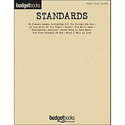 Hal Leonard Standards - Budget Book arranged for piano, vocal, and guitar (P/V/G) (311853)