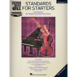 Hal Leonard Standards For Starters - Easy Jazz Play-Along Vol. 2 Book/CD (843226)