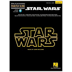 Hal Leonard Star Wars - Piano Play-Along Volume 127 Book/CD (110282)