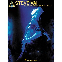 Hal Leonard Steve Vai Alive In An Ultra World Guitar Tab Songbook (690575)