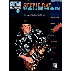 Hal Leonard Stevie Ray Vaughan Guitar Play-Along Series Volume 49 Book with CD (699725)