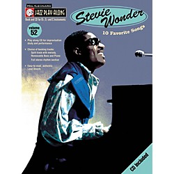 Hal Leonard Stevie Wonder - Jazz Play Along, Volume 52 (Book/CD) (843048)