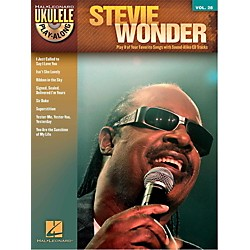 Hal Leonard Stevie Wonder - Ukulele Play-Along Vol. 28 Book/CD (116736)
