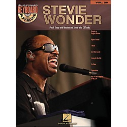 Hal Leonard Stevie Wonder Vol. 20 Book/CD Keyboard Play-Along (701262)