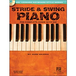 Hal Leonard Stride & Swing Piano Book/CD The Complete Guide With CD (310882)