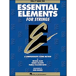 Hal Leonard String Book 2 Viola Essential Elements For Strings (862550)